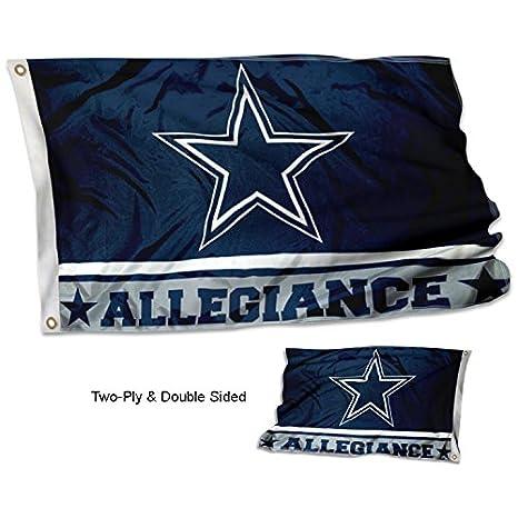 b7d4e60a WinCraft Dallas Cowboys Double Sided Allegiance Flag