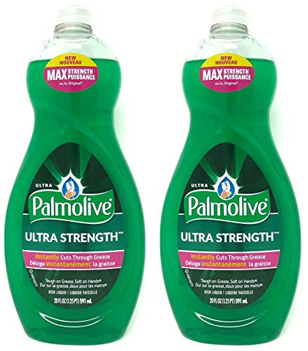 Palmolive Ultra Strength Liquid Dish Soap, Original, 20 fl oz,set of 2 - Palmolive Dish Detergent