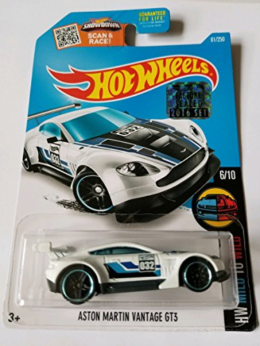 Aston Martin Factory - Hot Wheels 2016 Factory Sealed Set Exclusive Hw Mild To Wild - Aston Martin Vantage GT3