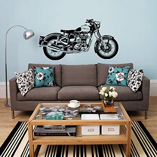 Ajcwhml Etiqueta engomada del Arte de la Motocicleta Royal ...
