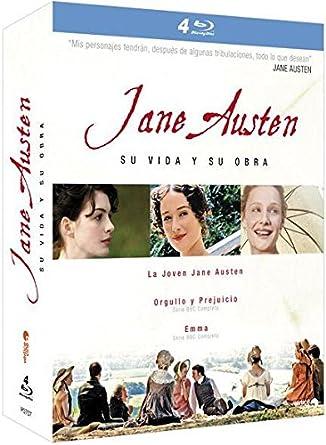Pack Jane Austen [Blu-ray]: Amazon.es: Anne Baxter, Robert Powell ...