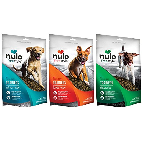Nulo Freestyle Grain Free Dog Training Treat Variety Pack - 3 Flavors