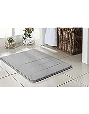 Tapete de Banheiro Super Soft Camesa Cinza 60cmx40cm Poliester