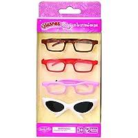 Set of 4 Glasses fits 18'' American girl doll