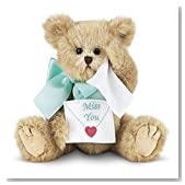 Bearington Beary Blue Without You Miss You Teddy Bear