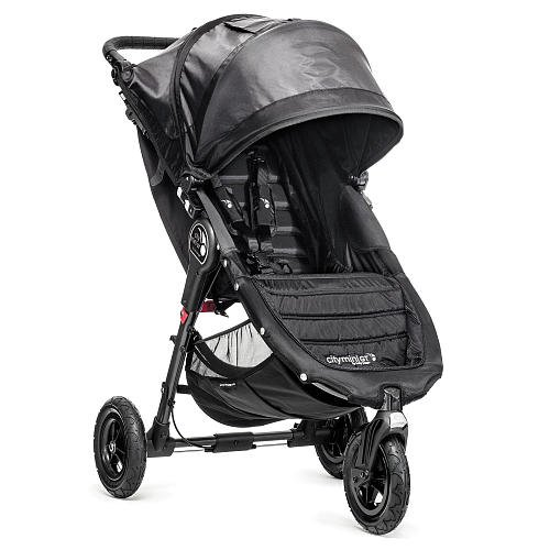 Baby Jogger City Mini GT Single Stroller - Black/Shadow