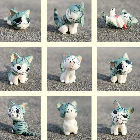 Cartoon Chi's Sweet Home Cute Cat Figures Animal 9 PCs (Cartoon Figure)
