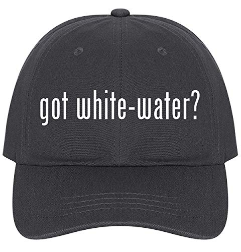 The Town Butler got White-Water? - A Nice Comfortable Adjustable Dad Hat Cap, Dark Grey