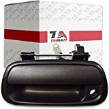 T1A Tailgate Latch Handle with Keyhole Replacement for 2000-2006 Toyota Tundra Pickup, Textured Black Liftgate Handle…