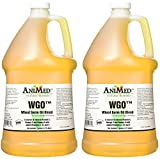 AniMed WGO Wheat Germ Oil Blend Supplement, 1 Gallon (2 Pack)