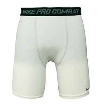 236690703c Nike Core Combat 6 Inch Men's Compression Shorts White (S): Amazon ...