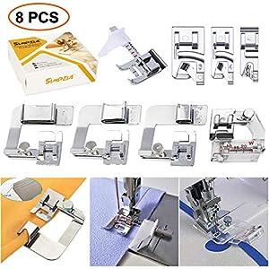 Prettyia 52pcs Professional Domestic Sewing Machine Presser Feet Foot Set