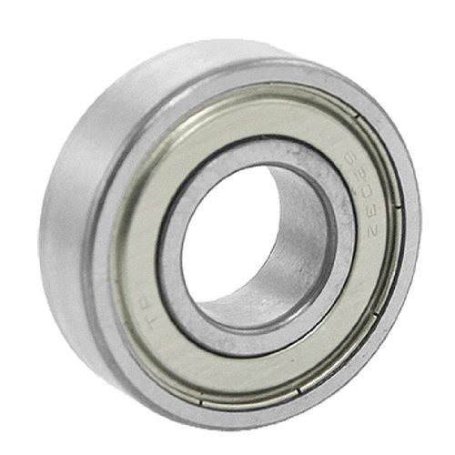 uxcell 6203Z Deep Groove Double Metal Shields Metric Ball Bearing 17 x 40 x 12mm ()