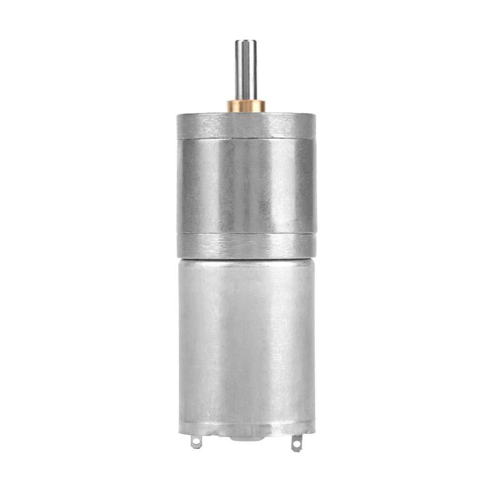 DC Getriebemotor, 25mm DC 12V 25GA-370 Low Speed Metall Getriebemotor fü r elektronische Sperre(12V 1000RPM) Hilitand