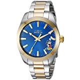 Invicta Men's 'Disney Limited Edition' Quartz Stainless Steel Casual Watch, Color:Two Tone (Model: 25240)
