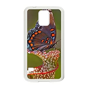 Butterfly Customized Cover Case for SamSung Galaxy S5 I9600,custom phone case ygtg522400
