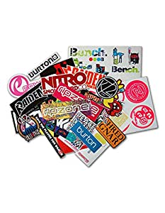 Nitro Snowboards - Juego de pegatinas