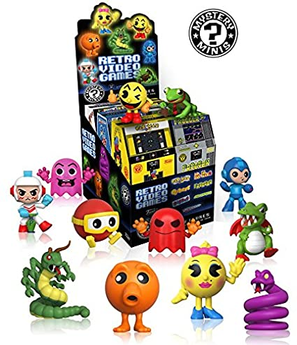 mystery minis retro video games funko set of 12