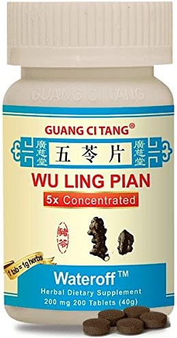 Wu Ling Pian Wateroff 200 mg 200 Tablets