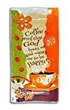 Divinity Boutique 23661 Coffee Ceramic Spoon Rest, Multicolor