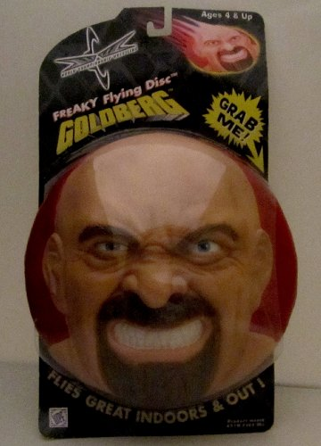 GOLDBERG WWF/WWE Freaky Flying Disc EXTREMELY RARE!! by C&W