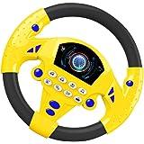 STOBOK Brinquedo Do Volante para Crianças Controlador de Direção Simulado Portátil de Direção Simulado Brinquedo Do Copiloto