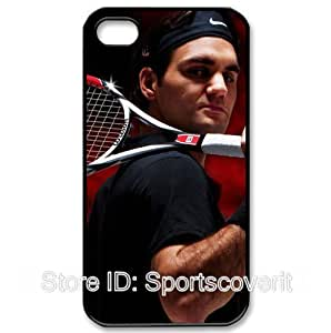 World Tennis Star Roger Federer image design for iPhone4/4S Hard shell-by Sportscoverit by runtopwell