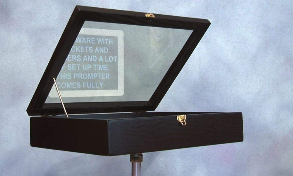 14G Teleprompter at a