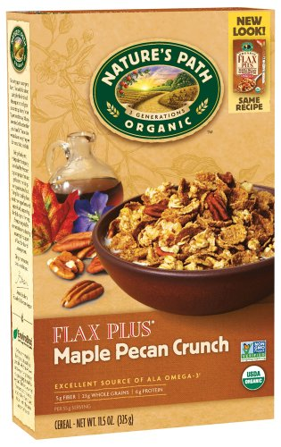 Nature's Path Organic - Cereal Flax Plus Maple Pecan Crunch - 11.5 (Maple Pecan Cereal)