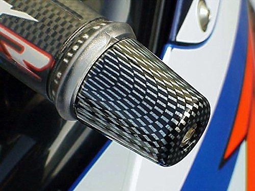 (i5 Carbon Billet Bar Ends for Suzuki Katana SV650 SV 650 GSXR 600 750 1000 GSXR600 GSXR750 GSXR1000)