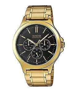 Casio Mtp-V300G-1Audf For Men-Analog, Dress Watch