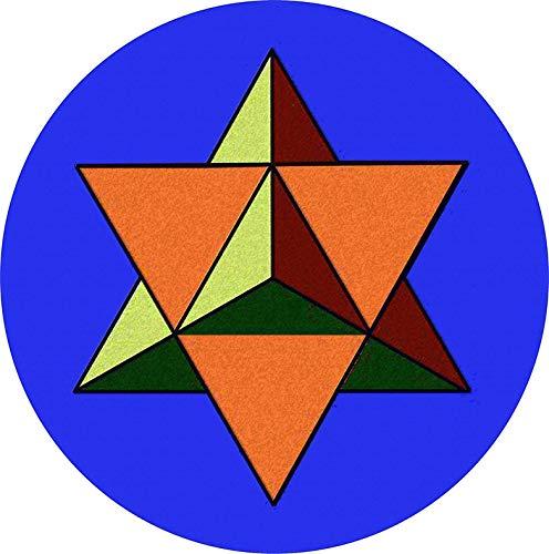HZ Graphics Tetrahedron Star One Vinyl Decal Wall Laptop Bumper Sticker 5