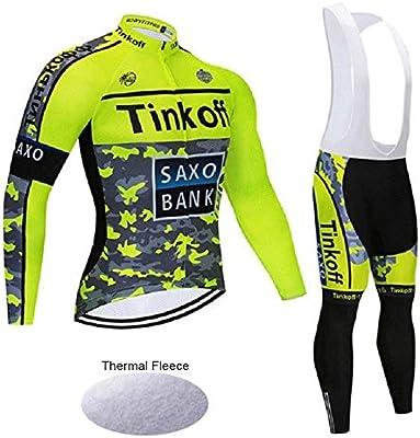 Wulibike Traje Ciclismo Hombre Conjunto Ropa Bicicleta Invierno ...