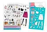 Make It Real - Fashion Design Sketchbook: Pretty
