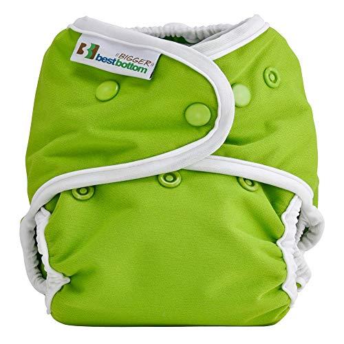 Bigger Best Bottom Reusable Cloth Diaper, Key Lime Pie