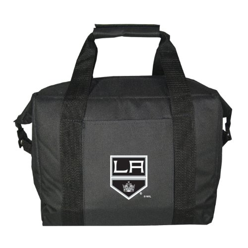 NHL Los Angeles Kings Soft Sided 12-Pack Cooler Bag by Kolder