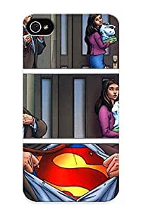 For Iphone 4/4s Tpu Phone Case Cover(image Clark Kent All Tar Uperman 004 Jpg Dc Ic Database)
