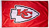 NFL Kansas City Chiefs Banner Flag, 3' x 5', Red