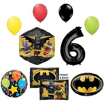 Amazon.com: La película de Lego Batman 6th Fiesta de ...