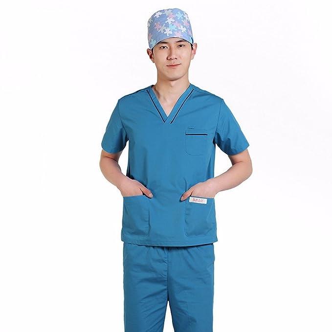 YISHIYI Los Médicos Usan Ropa, Enfermera Ropa, Batas Blancas, Ropa Quirúrgica, De