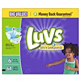 Health & Personal Care : Luvs Ultra Leakguards Diapers (Over 35 lbs) - 64 CT