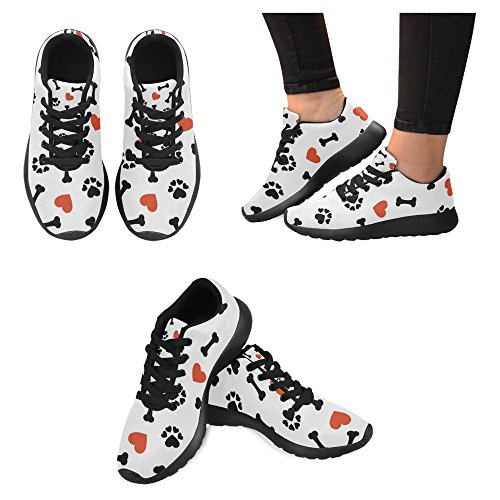 InterestPrint Womens Jogging Running Sneaker Lightweight Go Easy Walking Casual Comfort Sports Running Shoes Multi 9 FSFJpamZl