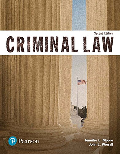 Criminal Law (Justice Series) (2nd Edition) (The Justice Series)