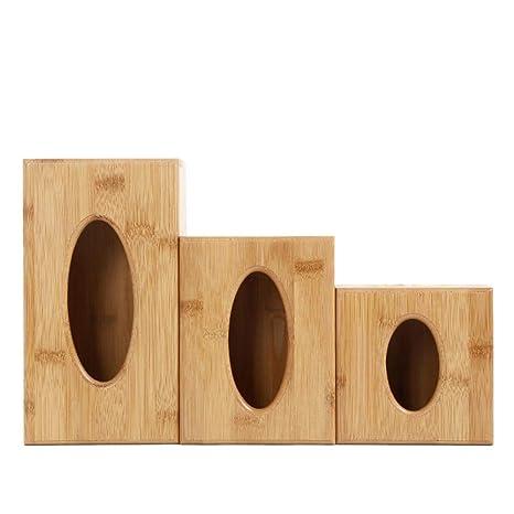 Kleenex Caja, madera paños Caja Trébol NEX Caja pañuelos funda Toalla dispensador, Tissue Box