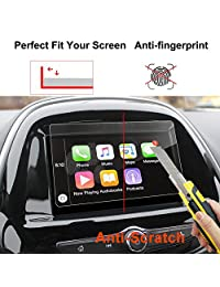 2017 Chevrolet Spark Sonic MyLink Protector de pantalla de navegación para auto de 7 pulgadas, LFOTPP Transparente TEMPERED GLASS Infotainment Display In-Dash Center Protector de pantalla táctil