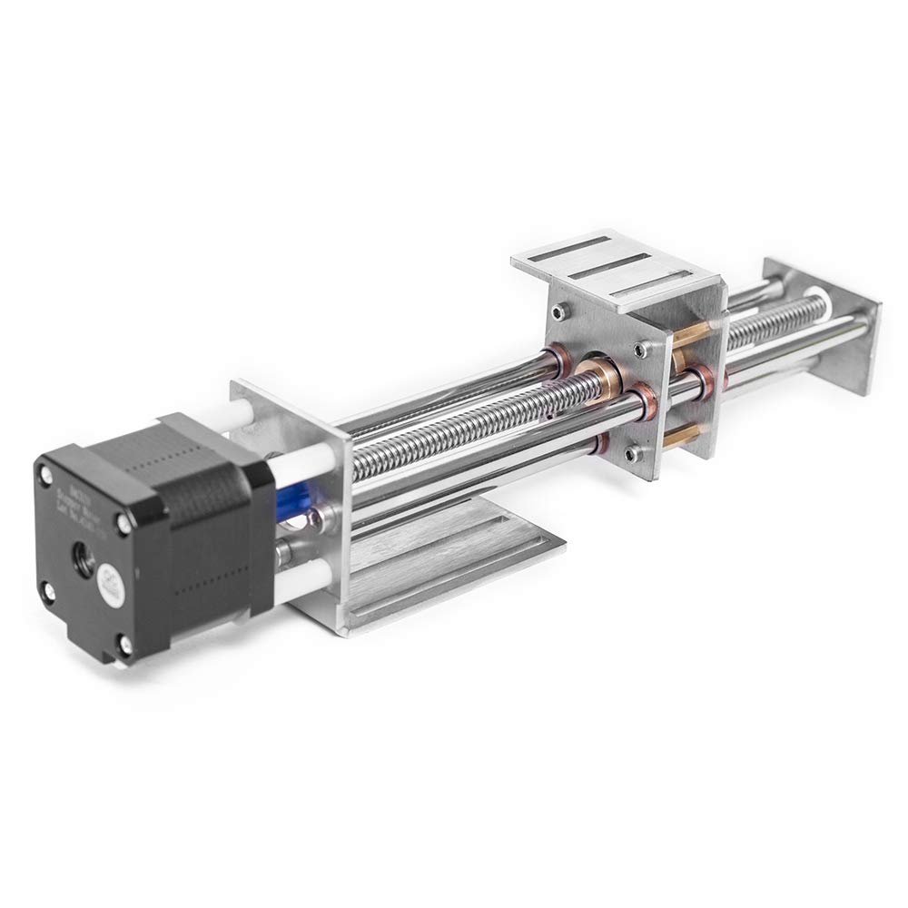 ETE ETMATE 150mm Travel Length Linear Stage Actuator With Stepper Motor For DIY CNC Router Parts X Y Z Linear Rail Guide And CNC Slide Stroke