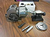 BS-1 Precision Dividing Head With 6'' 3-jaw Chuck & Tailstock