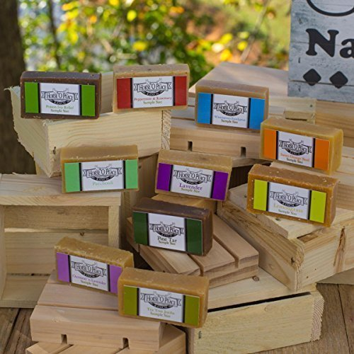 (Horse 'O Peace Ranch Herbal Handmade Goat Milk Soap Sample Pack (Scented))