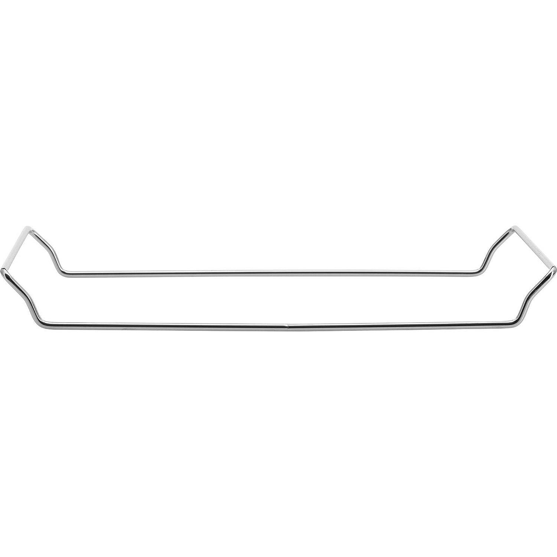 Ma/ße: 38 x 30 cm Beige Rechteckig Westmark Pizzastein//Brotbackstein mit Untersatz 32422260 Unglasierte Keramik