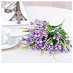MARJON-Flowers2PC-Gladiolus-Artificial-Flowers-Fork-Phalaenopsis-Fake-Silk-Wedding-Decor-Purple